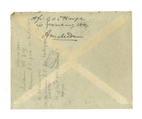 Losse brief NAFVA enveloppe 2